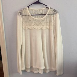 Lucky brand long sleeve size M
